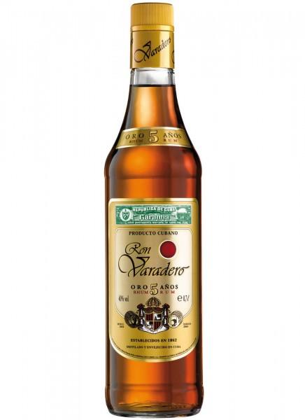 Ron Varadero Oro 5 Anos Rum 0,7 L