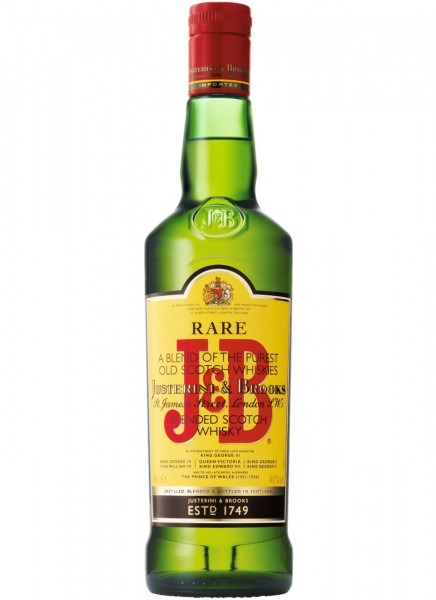 J&B Rare Blended Scotch Whisky 0,7 L