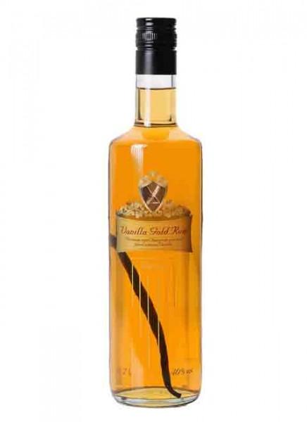 Vanilla Gold Rum Likör mit Vanilleschote 0,7 L