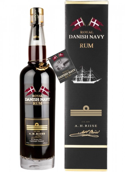 A.H. Riise Royal Danish Navy Premium Rum 0,7 L