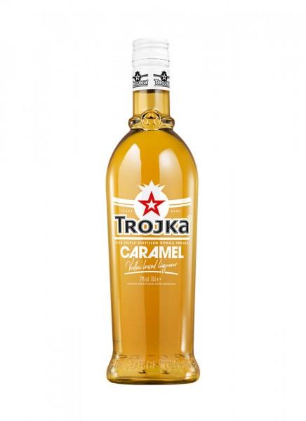 Trojka Vodka Likör Caramel 0,7 L