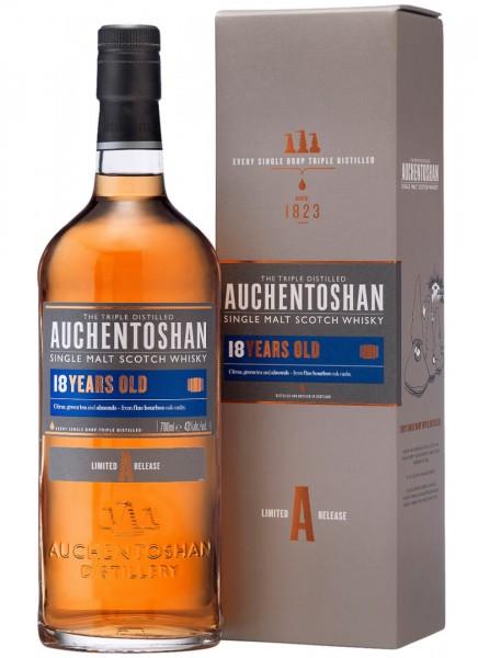 Auchentoshan 18 Years Single Malt Scotch Whisky 0,7 L