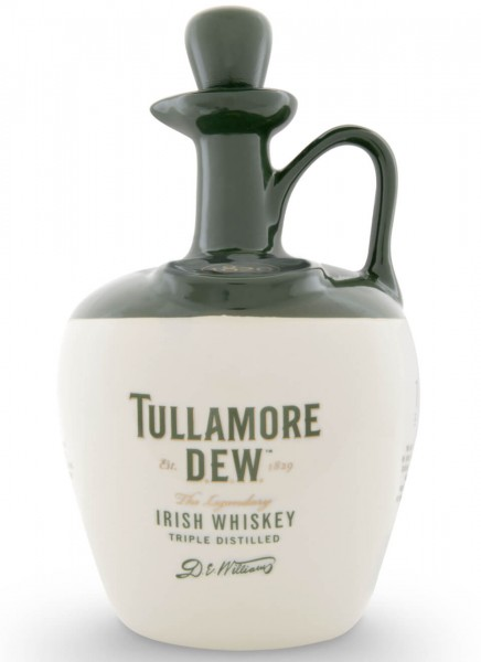 Tullamore Dew Irish Whiskey im Tonkrug 0,7 L