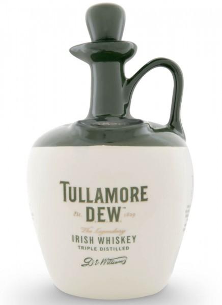 Tullamore Dew Irish Whiskey im Tonkrug 0,7 L