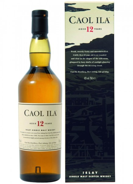 Caol Ila 12 Years Islay Single Malt Scotch Whisky 0,7 L