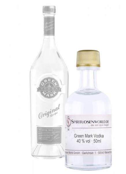 Green Mark Vodka Tastingminiatur 0,05 L