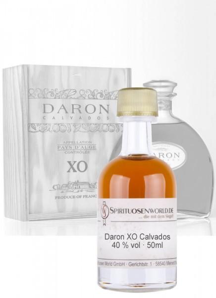Daron XO Calvados Tastingminiatur 0,05 L