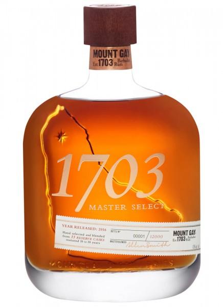 Mount Gay 1703 Master Select Rum 0,7 L
