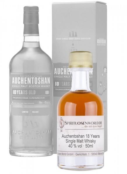 Auchentoshan 18 Jahre Whisky Tastingminiatur 0,05 L