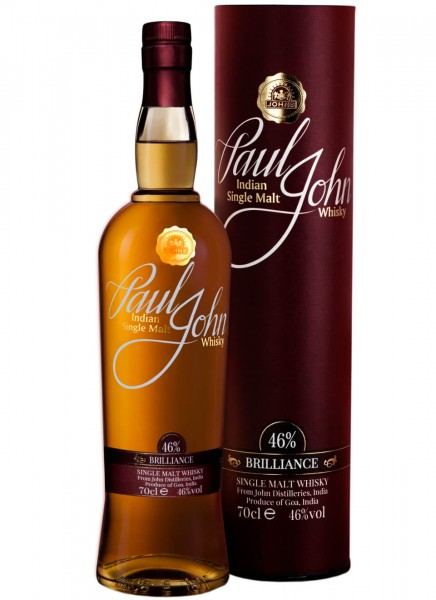 Paul John Brilliance Whisky 0,7 L