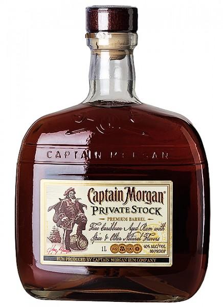 Captain Morgan Private Stock Rum 1 L