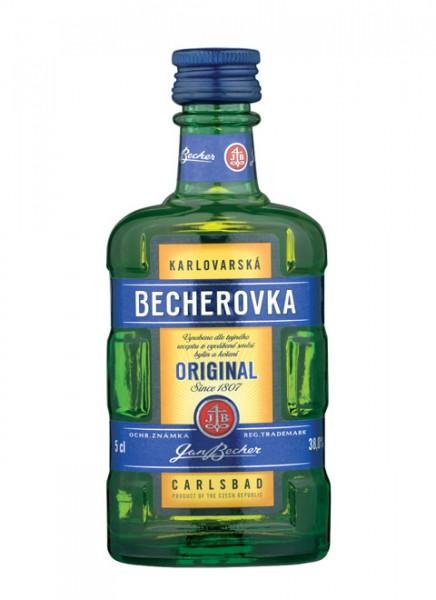 Becherovka Kräuterlikör Mini 0,05 L