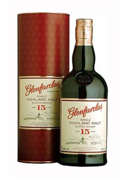 Glenfarclas 15 Years Whisky 0,7 L