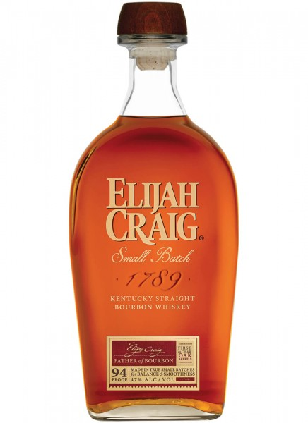Elijah Craig Small Batch Straight Bourbon Whiskey 0,7 L