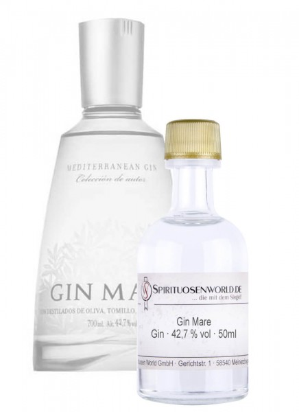 Gin Mare Tastingminiatur 0,05 L