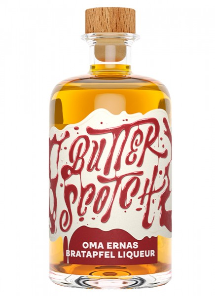 Butterscotch Oma Ernas Bratapfel Liqueur 0,5 L