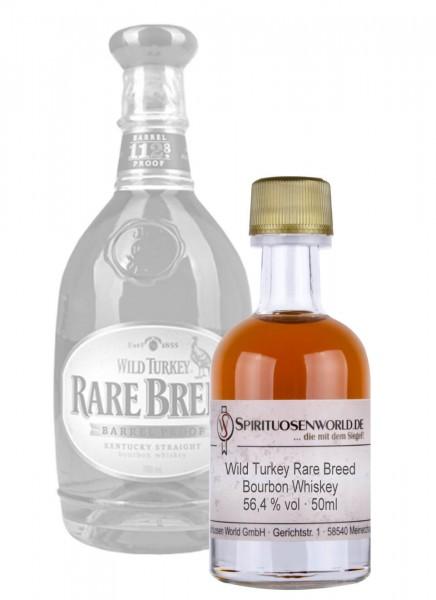 Wild Turkey Rare Breed Whisky Tastingminiatur 0,05 L