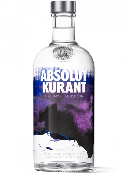 Absolut Vodka Kurant Johannisbeere 0,7 L
