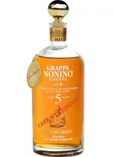 Grappa Nonino Antica Cuvée Cask Strength 0,7 L