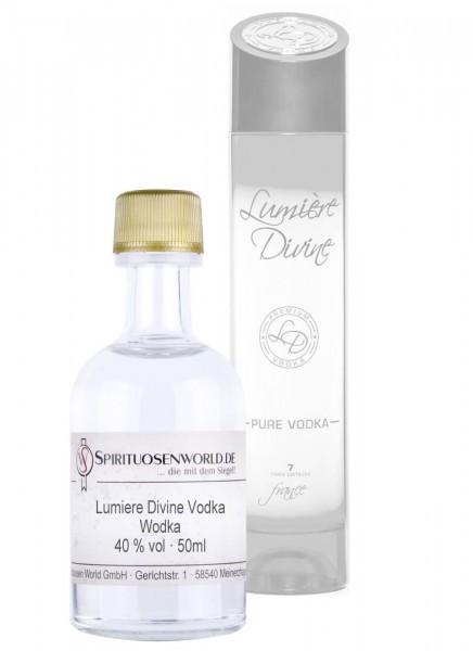 Lumiere Divine Vodka Tastingminiatur 0,05 L