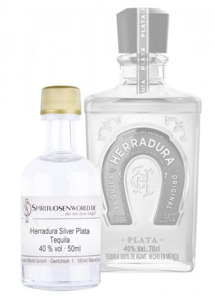 Herradura Plata Tequila Tastingminiatur 0,05 L