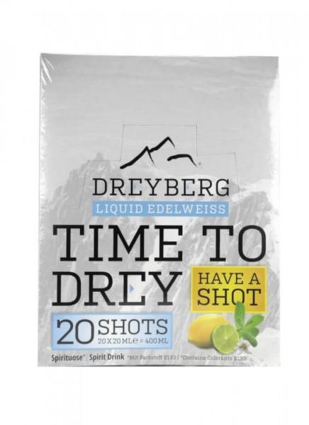 Dreyberg Edelweiss Shot in a Box 20 x 0,02 L