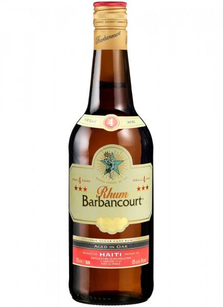 Barbancourt 4 Years Rum 0,7 L