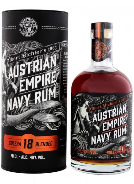 Albert Michlers Austrian Empire Navy Rum Solera 18 Jahre 0,7 L