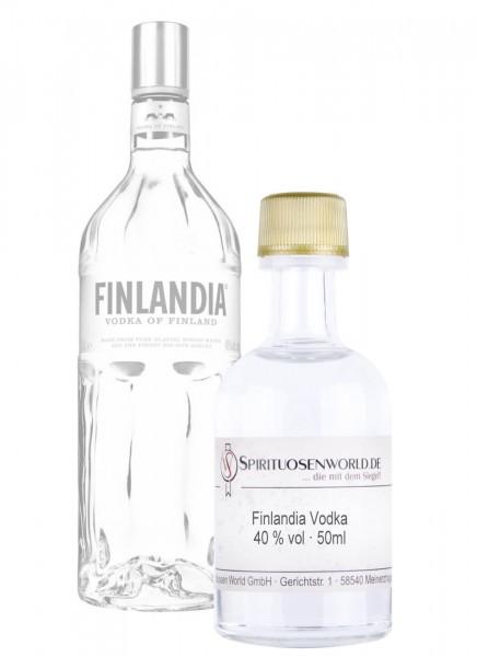 Finlandia Vodka Tastingminiatur 0,05 L