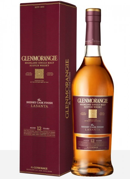 Glenmorangie Lasanta Highland Single Malt Scotch Whisky 0,7 L