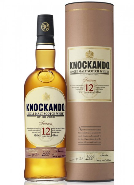 Knockando 12 Years Whisky 0,7 L