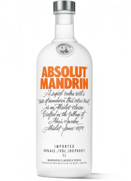 Absolut Vodka Mandrin 1 L