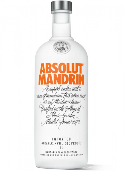 Absolut Vodka Mandrin 1 L