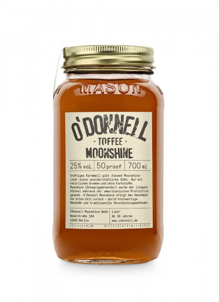 O'Donnell Moonshine Toffee Likör 0,7 L