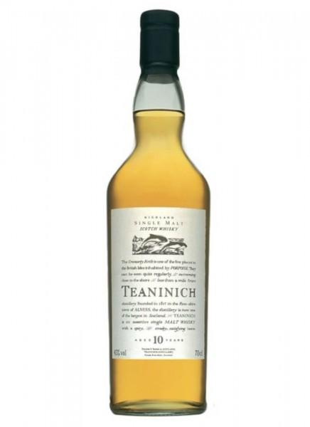 Teaninich 10 Jahre Flora & Fauna Whisky 0,7 L