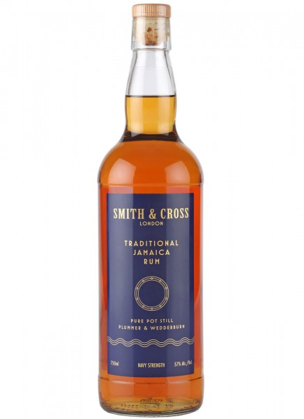 Smith & Cross Navy Strength Overproof Rum 0,7 L