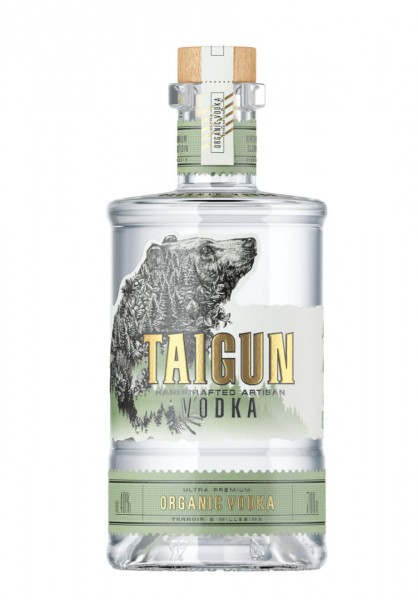 Taigun Handcrafted Organic Vodka 0,5 L