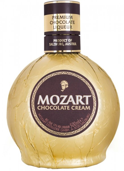 Mozart Gold Chocolate Cream Likör 0,5 L