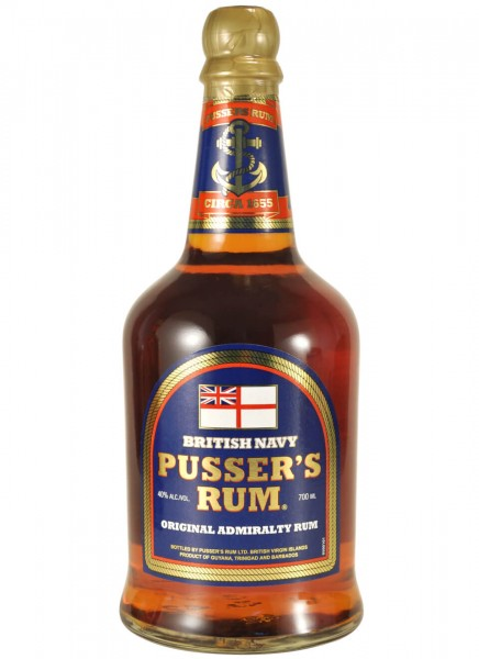 Pussers Original Admiralty Navy Rum 40% Vol. 0,7 L