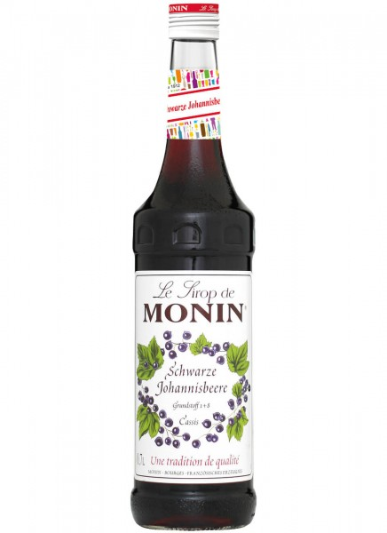Monin Sirup schwarze Johannisbeere Cassis 0,7 L
