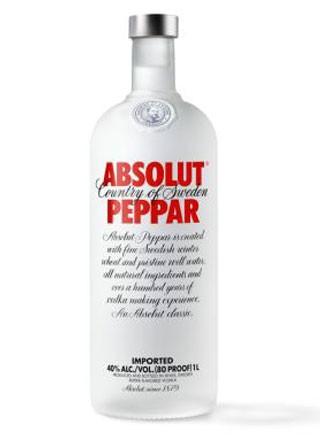 Absolut Vodka Peppar 1 L