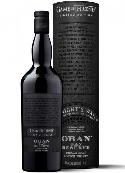 Oban Bay Reserve Game of Thrones Edition Whisky 0,7 L