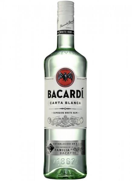 Bacardi Carta Blanca Superior White Rum 0,7 L