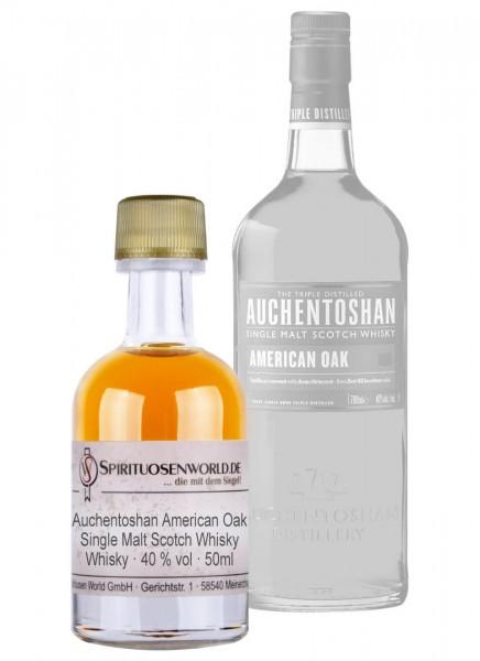 Auchentoshan American Oak Whisky Tastingminiatur 0,05 L