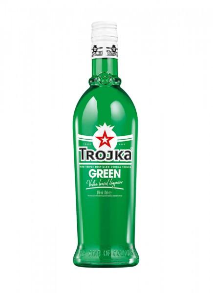 Trojka Vodka Likör Green 0,7 L