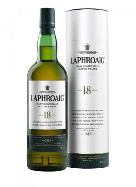 Laphroaig 18 Years Islay Single Malt Scotch Whisky 0,7 L