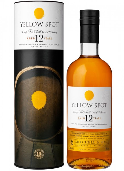 Yellow Spot 12 Jahre Irish Whiskey 0,7 L