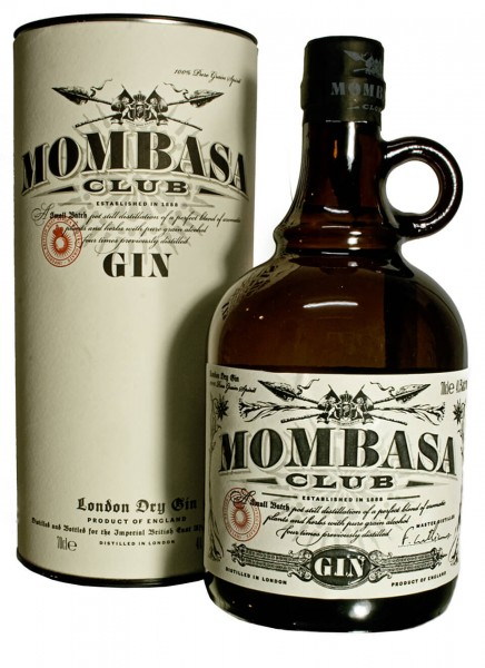 Mombasa Club Dry Gin in Geschenkpackung 0,7 L