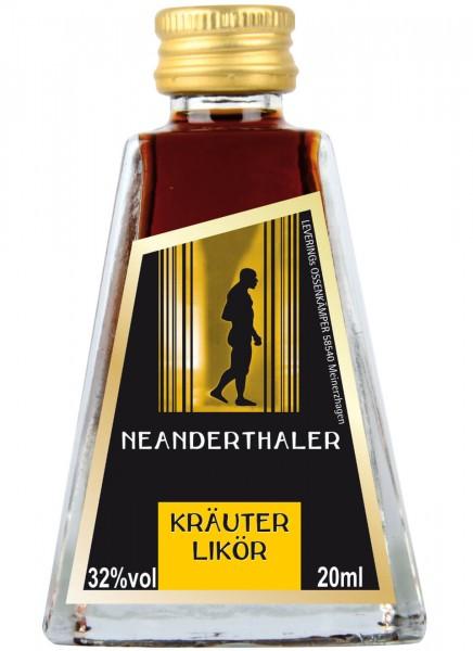 Neanderthaler Kräuterlikör Miniatur 0,02 L
