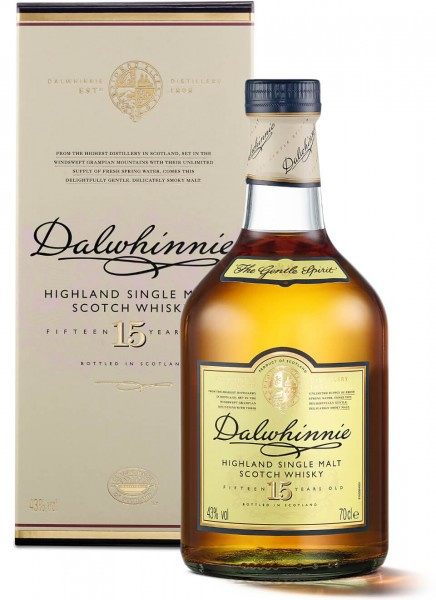 Dalwhinnie 15 Years Highland Single Malt Scotch Whisky 0,7 L